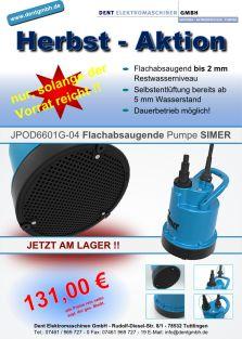 Herbstaktion - SIEMER Pumpen